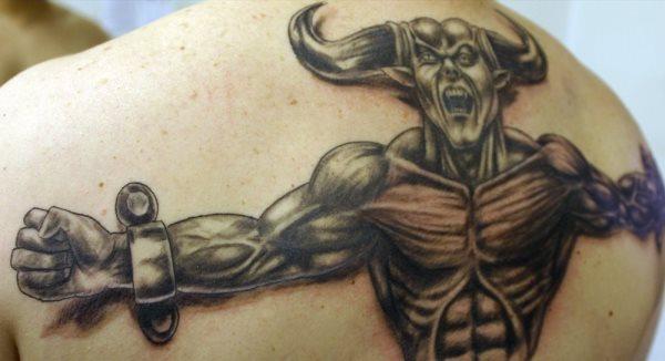 62 Satan Und Bösen Dämonen Tattoos Bildergalerie