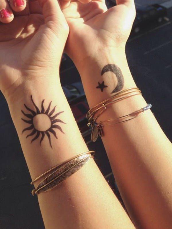 102 Sonne Tattoos Mit Anderen Symbolen Bildergalerie