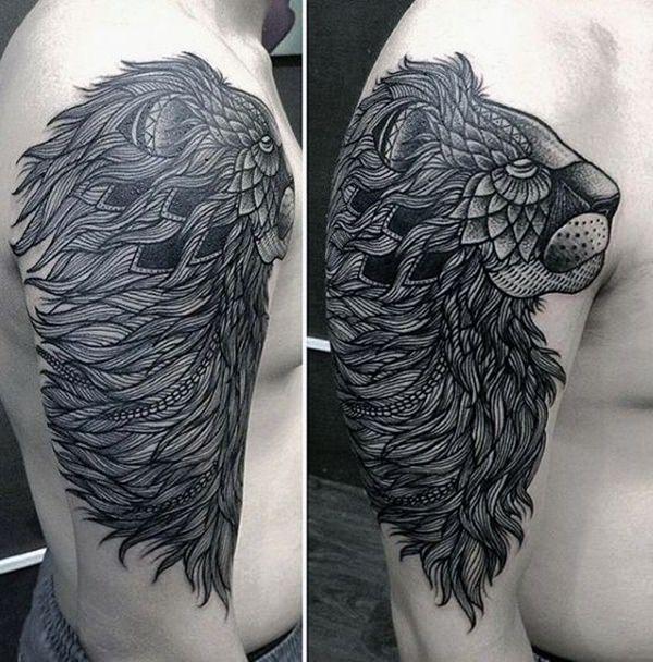 72 Wilder Löwe Tattoos Fotogalerie
