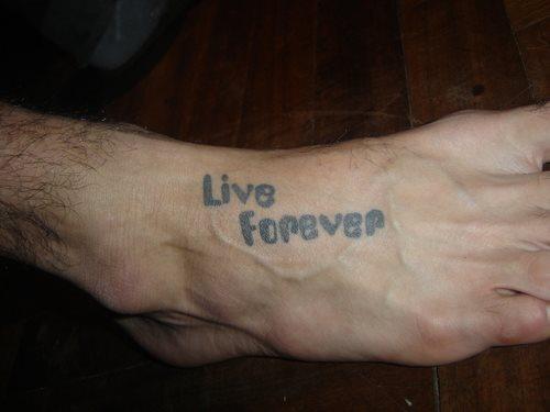Arm männer sprüche tattoo Tattoo