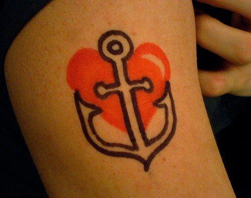 123 meer motive marine anker tattoos - Anker englisch ...