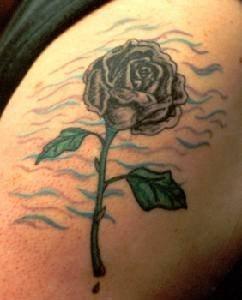 75 neue florale tattoos alle arten von blumen. Black Bedroom Furniture Sets. Home Design Ideas