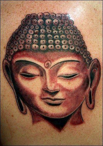 75 buddhistische tattoos buddha motive. Black Bedroom Furniture Sets. Home Design Ideas