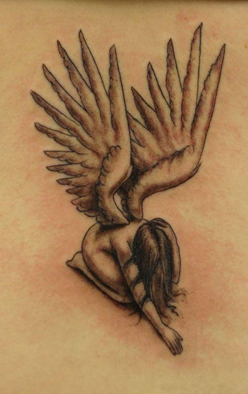 Motive mit flügeln engel tattoo ▷ 1001
