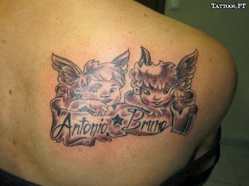 Engel Und Erzengel Tattoos 95 Bilder