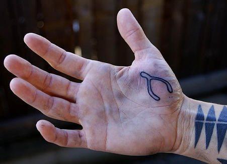 59 Hand Tattoos Tätowierungen Motive
