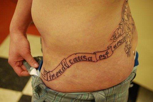 Imagespace Pelvic Bone Tattoos Gmispacecom