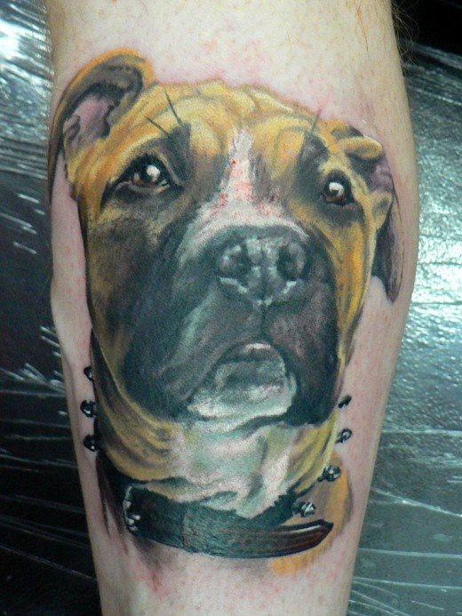 119 hunde tattoos alle hunderassen. Black Bedroom Furniture Sets. Home Design Ideas