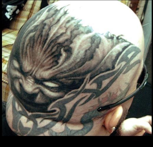 Kerry King Tattoo Hledat Googlem: 81 Detaillierte Tattoos Am Kopf