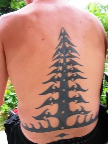 Tattoo Zweige