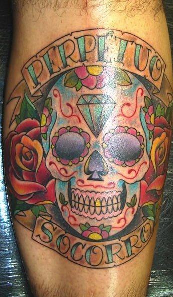 56 Mexikanische Tattoos: Skelette und Schädel