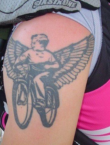 52 Motorradfahrer Biker Und Radfahrer Tattoos Motorrad