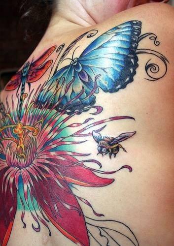 106 Schmetterling Tattoos Für Frauen