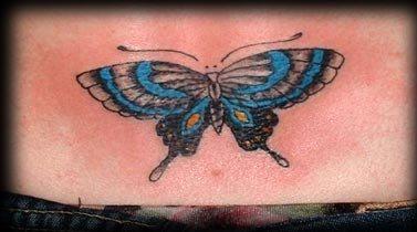 106 schmetterling tattoos f r frauen. Black Bedroom Furniture Sets. Home Design Ideas