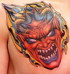 tattoo teufel