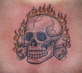 83 Schadel Und Totenkopf Tattoos