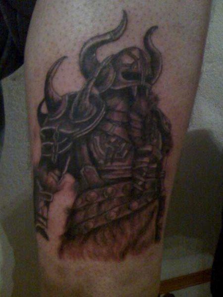 Tattoos motive männer wikinger
