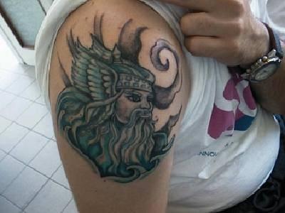 Nordische Götter Tattoo