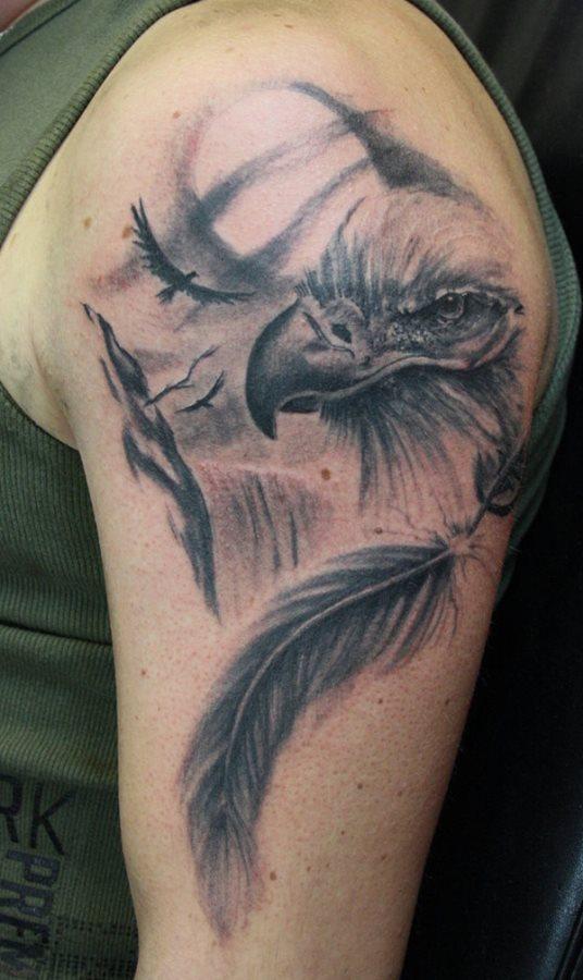 Adler Tattoo Bedeutung Schone Vorlagen Desired De