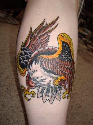 80 Adler Und Raubadler Tattoos