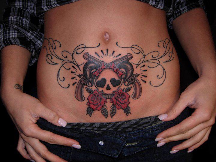 erotik für frauen tattoos bauchseite
