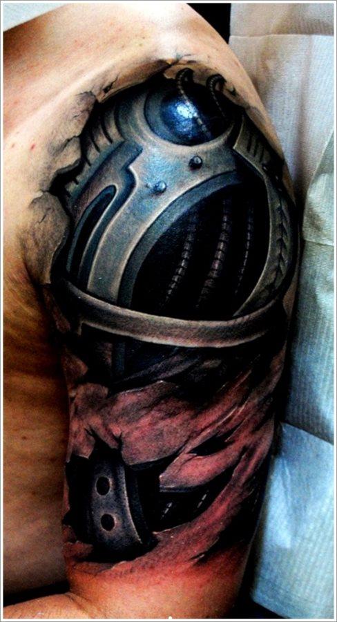45 Biomechanik Tattoos Designs Und Modelle