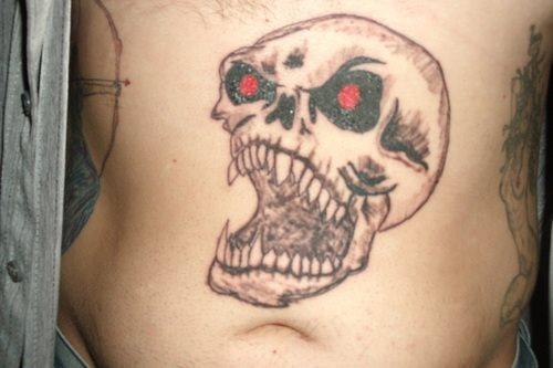 72 teufel satan d monen und antichrist tattoos. Black Bedroom Furniture Sets. Home Design Ideas