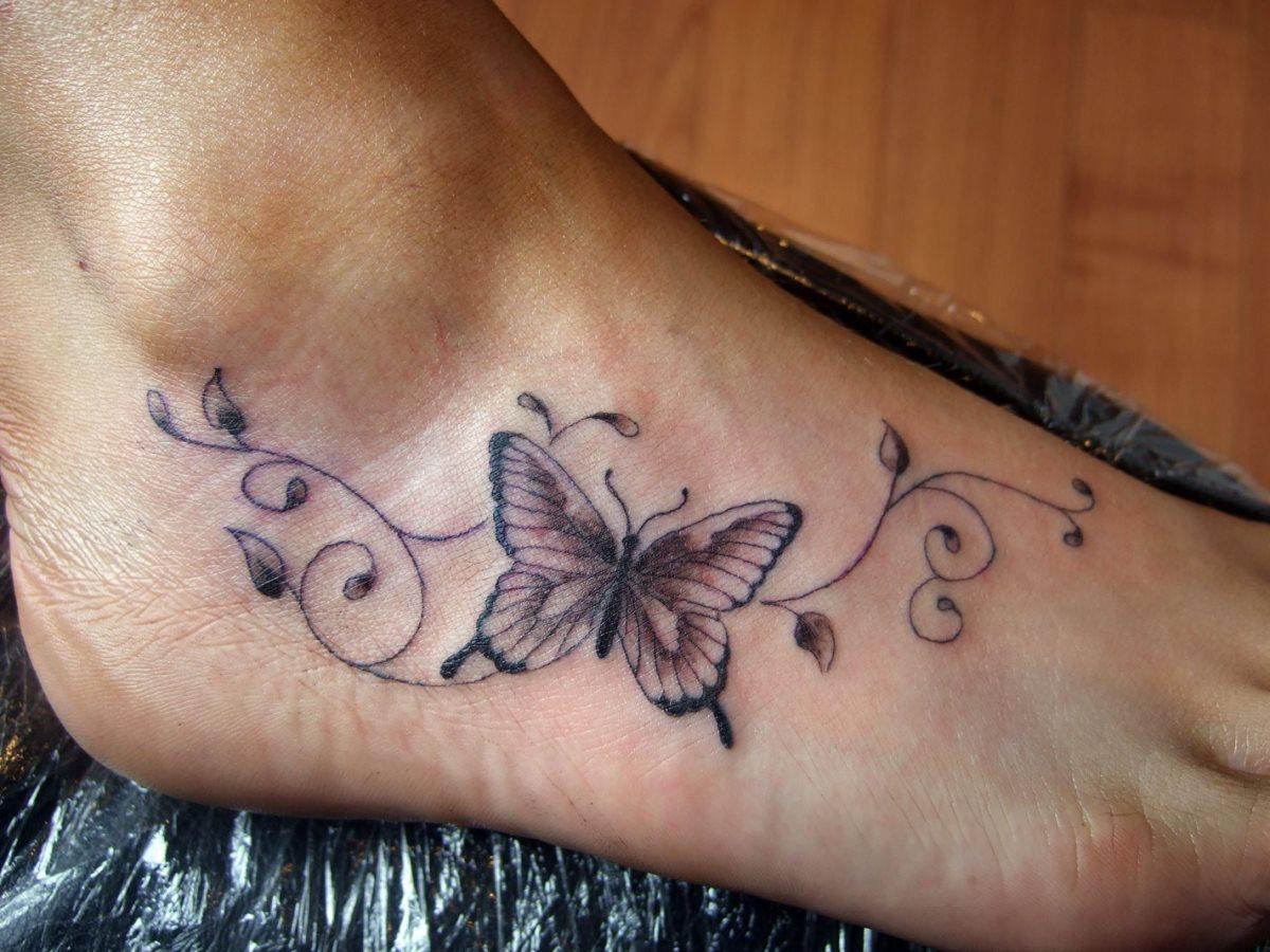 Fuss frauen tattoo motive Die Tattoo
