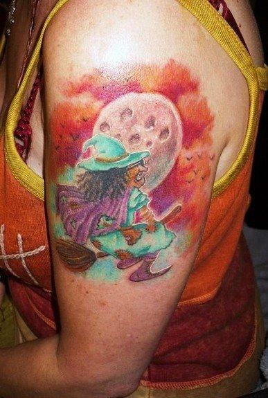 Hexen Tattoo