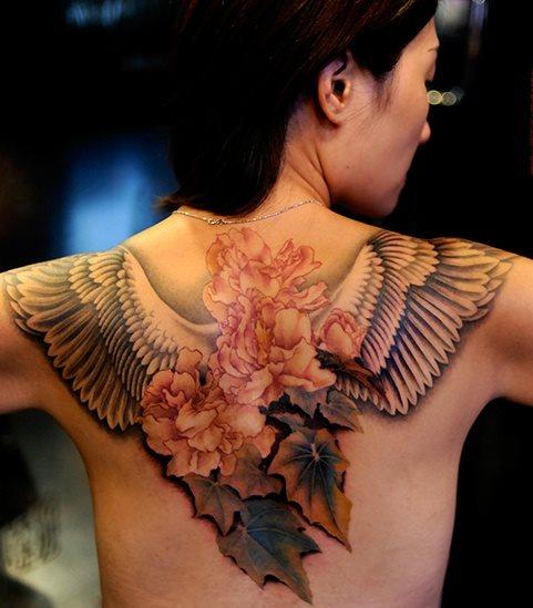 Tattoo beim mann