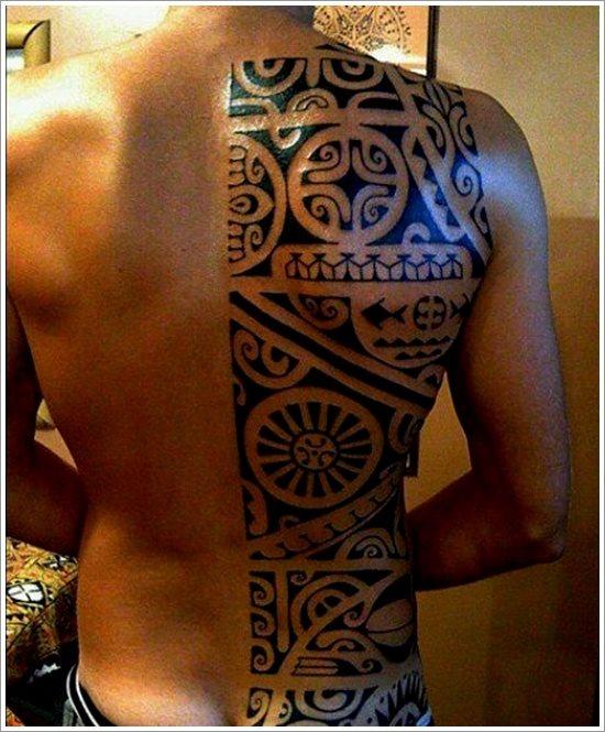 82 maori tattoos neue polynesische motive. Black Bedroom Furniture Sets. Home Design Ideas