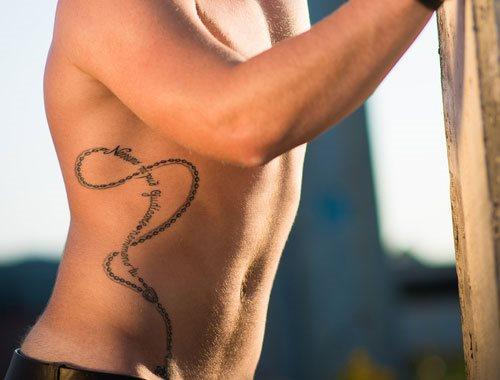 Neck Chain Tattoo Designs