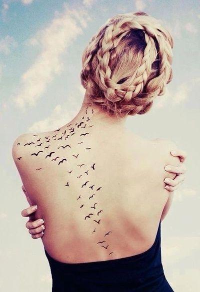 60 Schulterblatt Tattoo Ideen
