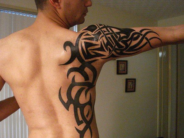 Schulterblatt tattoo motive männer 30 geniale