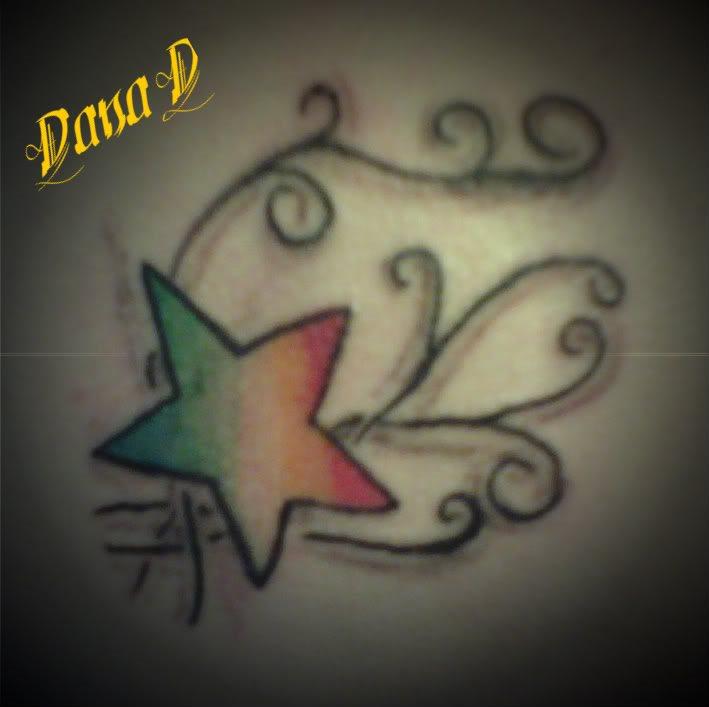 117 Tattoos Mit Einem Oder Mehreren Sternen