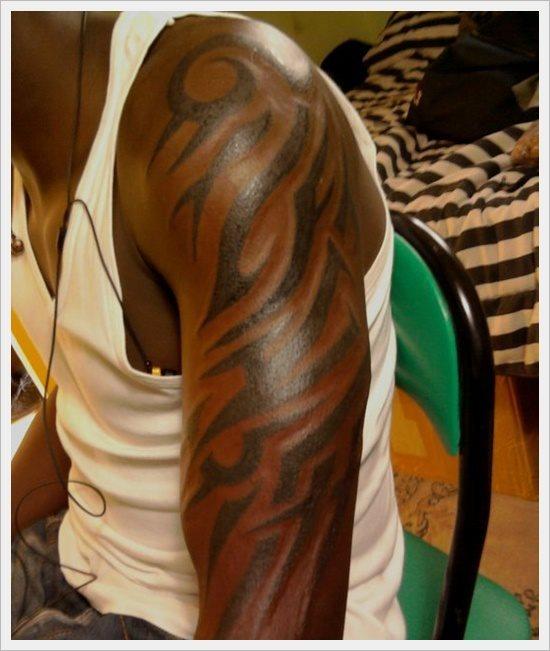 Eine Große Oder Kleine Tribal Tattoos 50 Beispiele