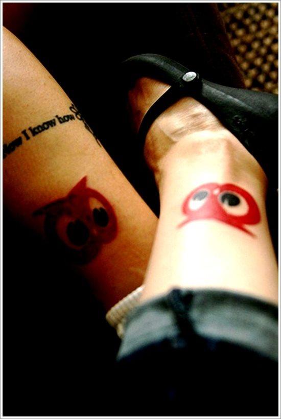 54 Romantische Tattoos Fur Paare Und Freunde