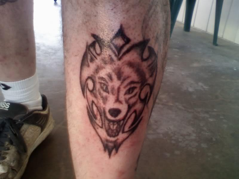 Wild Wolf Tattoos 108 Bilder Und Fotos