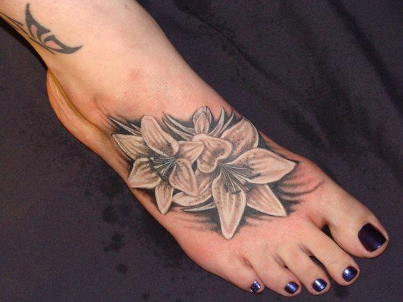190 Wunderbare Tattoos Auf Dem Fuß