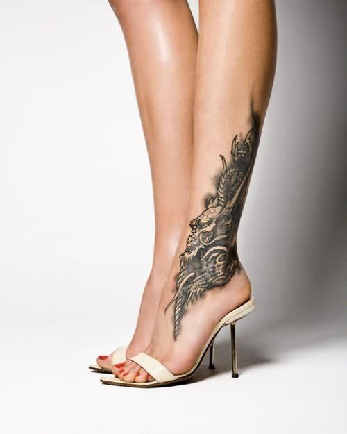 90 Knöchel Und Fuß Tattoo Motive Fotogalerie
