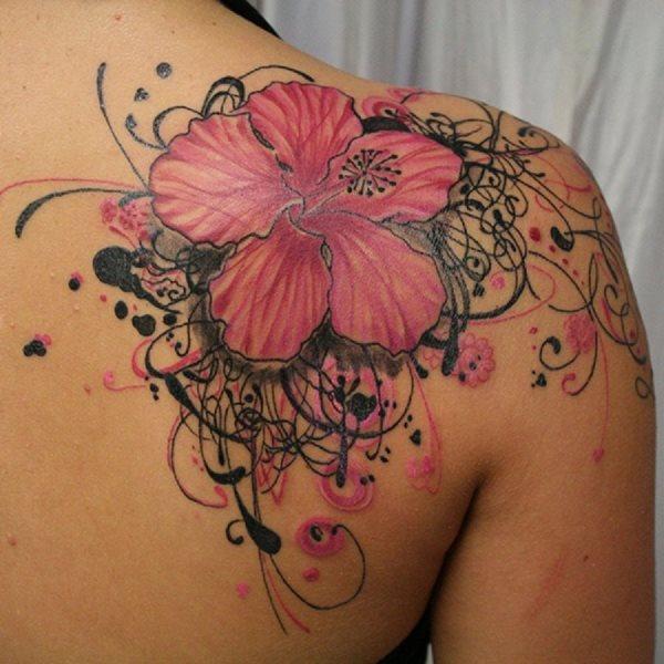 Schulter frau schöne tattoos Schulter Tattoo