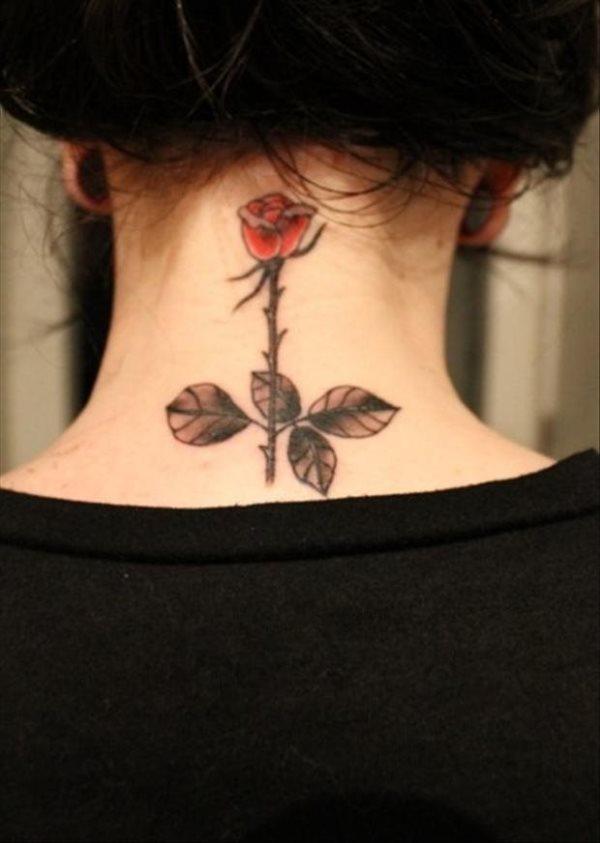 Frauen tattoo nacken motive Ramos Adler