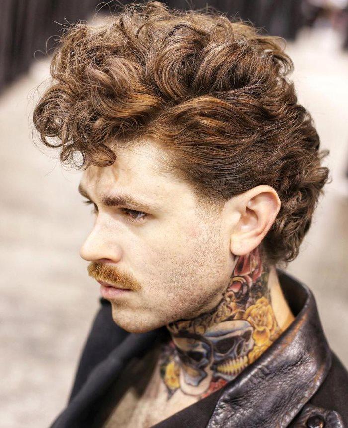 Männer locken kurzhaarfrisuren locken frisuren
