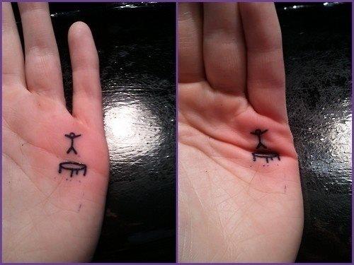 Tattoos kleine schöne Kleine Tattoos