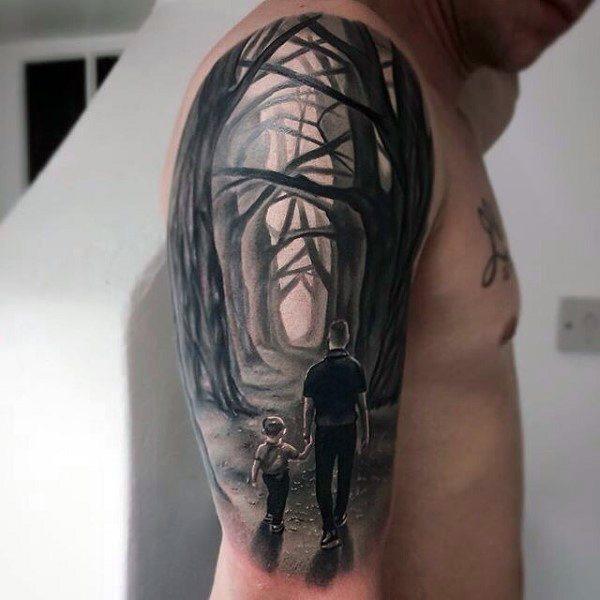 Vater keltisch tattoo tochter Tattoo Vater