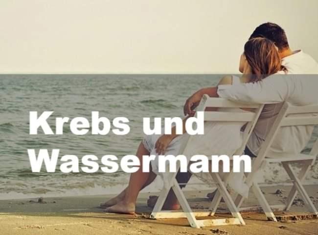 Krebs und Wassermann: Partnerschaft, Freundschaft und Liebe