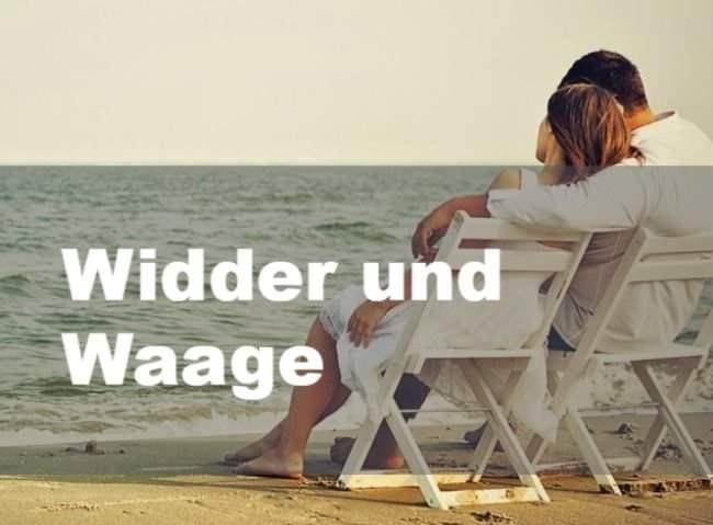 Widder und Waage: Partnerschaft, Freundschaft und Liebe