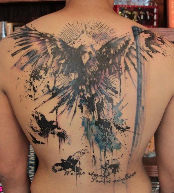 Tattoo rücken männer Tattoo Sprüche