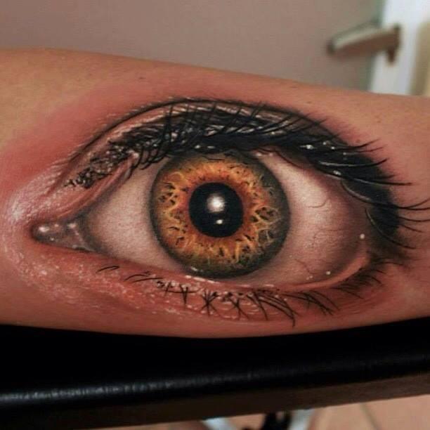 76 Blaue Schwarzen Braunen Und Grünen Augen Tattoos