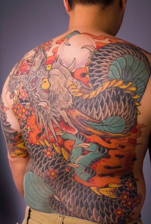 70 Japanischer Stil Tattoos Japanische Galerie